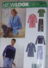 New Look Master Pattern 6233 Unisex Chest 30-48 Sleepwear Robe Pants Knit Tops