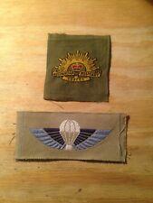 Original Vietnam Era Australian SAS bevo silk Insignia (Lot 2)