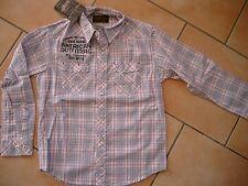 (185) American Outfitters Boys Hemd mit Logo Druck auf Brust und Rücken gr.152