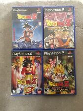Lot 4 Jeux Dragon Ball - Playstation 2 - Complet - PAL