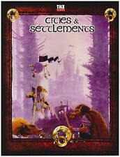 Troll Lord d20 RPG: Cities & Settlements - Soft Cover