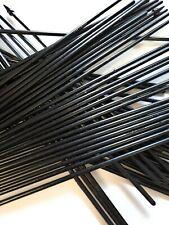 More details for black plastic hand flag sticks 30cm.  crafts plant gardening free uk delivery!