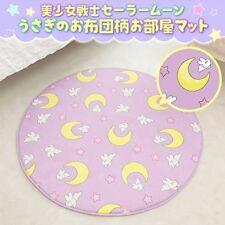 Sailor Moon Usagi Futon pattern Room mat Bandai 47in x 47in New JAPAN F/S