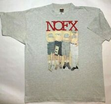 Vintage 1993 NOFX Shirt WHITE TRASH TWO HEEBS AND A BEAN, XL