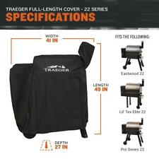Traeger 22 Series Full Length Grill Cover BAC379