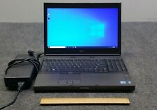 "Dell Precision M4600 15.6"" Laptop i7-2760QM, 8GB RAM, 512 GB mSATA SSD w/Adapter"