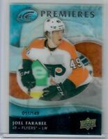 2019-20 UD Ice Premieres Joel Farabee Rookie Retro #5  11 of 149 Flyers SP RC!!