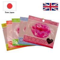 5 x Japan Pure Smile Premium Collagen Lip Hydrating Mask Dry Lip Care