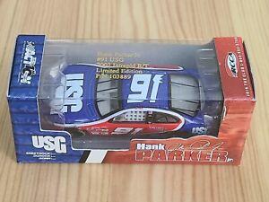2002 #91 Hank Parker Jr. USG Sheetrock 1/64 Action NASCAR Diecast MIP