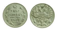 pcc1359_35) ESTERE - RUSSIA -  15 KOPEKS  COPECHI 1911
