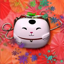 KATE SPADE HELLO SHANGHAI LUCKY KITTY CAT MINAUDIERE SHOULDER BAG PXRU5196
