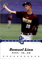 2013 Leaf Perfect Game Blue #32 Samuel Linn - NM-MT
