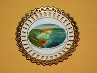 "VINTAGE 4"" SOUVENIR OF NIAGARA FALLS NY  MADE IN GERMANY MINI PLATE"