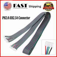 5pcs PH2.0-XH2.54 Female-Female Stepper Motor Connector Cable 1m/3.2ft