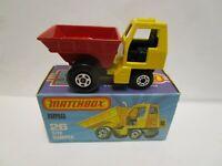 1976 MATCHBOX SUPERFAST NO.26 SITE DUMPER ***NEW IN BOX***