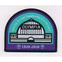 1920-2020 WORLD SCOUT JAMBOREE CENTENARY - WSJ MONDIAL 100TH ANNIV SCOUTS PATCH