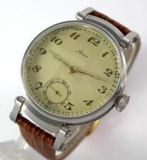 Einzigartige ARSA swiss XL ANTIKE Art Deco Style mariage ARMBANDUHR Wrist Watch