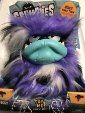 New Grumblies BOLT Plush Interactive Toys - Purple In Hand Ready To Ship