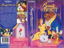 BEAUTY AND THE BEAST CLASSIC  WALT DISNEY VIDEO PAL VHS A RARE FIND~