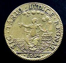 JETON LOUIS XIII / SIC TANTO IVDICE REGNAT 1624 - FRANCE - Royal Token Justice
