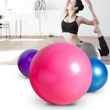 Yoga Ball Exercise Fitness Balance Gymnastic Strength 50cm 55cm 65cm 75cm + PUMP