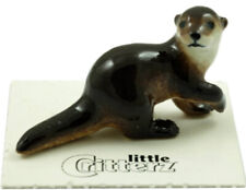 ➸ Little Critterz Forest Animal Miniature Figurine River Otter Gilde