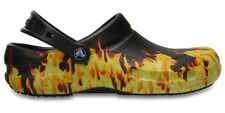Crocs 'Bistro Graphic' Work Clogs - Flames