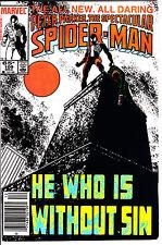 Marvel Comics SPECTACULAR SPIDER-MAN 1985 #109 FN/VF Newsstand
