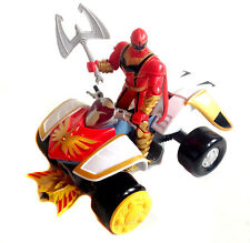 Power Rangers Mystic Force Quad Bike & Ranger Rojo Figura Set