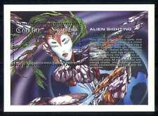 Nicaragua 1994 Aliens Sightings/Space/Sci-fi/Animation 1v m/s (n27399)