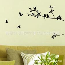 Wall Decor Art Vinyl Removable Bedroom Livingroom Decal Sticker Bird And Branch