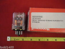 Honeywell Micro Switch FE-S2443 Relay Tracking 8-Pin Coil 12V 165 ohm New Nos