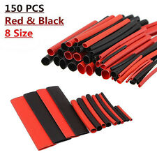 150pcs 2:1 New Heat Electrical Shrink Tubing Tube Sleeving Wrap Wire Kit Cable