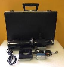 Celco C1726-5 0 to 180°, Unitron Wfh10Xr Eyepiece, Crt Spot Analyzer + Case!