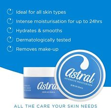 Astral Cream | Original Face and Body Moisturizing | 50ml Travel Size