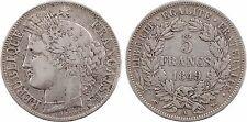 IIe République, 5 francs Cérès, 1849 Paris, argent - 92