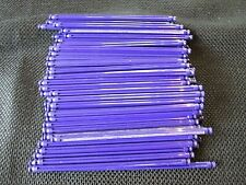 "100 Micro K'Nex Purple 3 3/4"" (94 mm) Rods replacement 3 3/4 inch parts/pieces"
