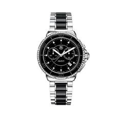 TAG Heuer Stainless Steel Case Ceramic Band Wristwatches