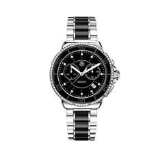 TAG Heuer Ceramic Band Round Wristwatches