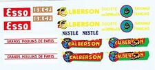 decals pour Dinky: Ford - Studebaker: Esso, SNCF, Calberson, Nestlé, moulins.