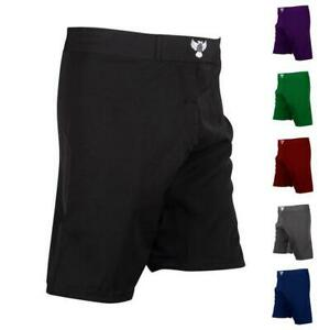 Raven Plain BJJ/MMA Fight Shorts (Regular Length)