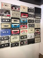 35 Cassette tapes lot Untested