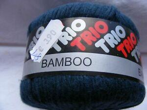 Trio 81 Bamboo Wolle, NEU, Bambus Baumwolle