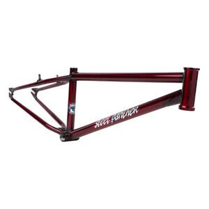 "S&M BIKES STEEL PANTHER RACE CRUISER FRAME TRANS CANDY RED 22"" TT - BMX - RACE"
