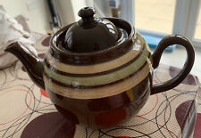 Fantastic Vintage Alcock Lindley Bloore (ALB) Pottery Large Teapot