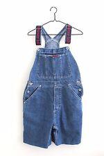 Vintage 90's Tommy Hilfiger Womens Shortalls Carpenter Overalls Size M Bib Spell