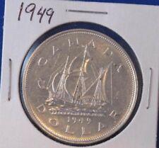 1949 Canada Silver Dollar George VI Canadian B2822