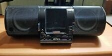 Jensen Black Universal Docking Station for iPod JiSS-20 with Power Supply Cord
