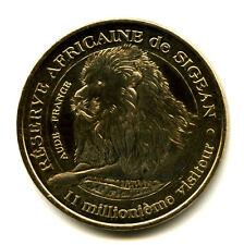 11 SIGEAN Lion 5, 11 millionnième visiteur, 2010, Monnaie de Paris