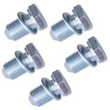 5PCS FOR VW Volkswagen Audi Engine Oil Pan Drain Plug Bolt Screw N90813202